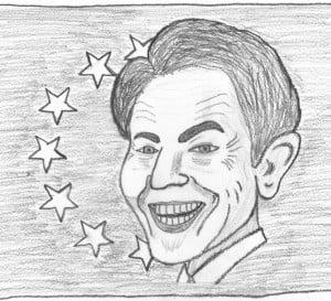 Blair EU President