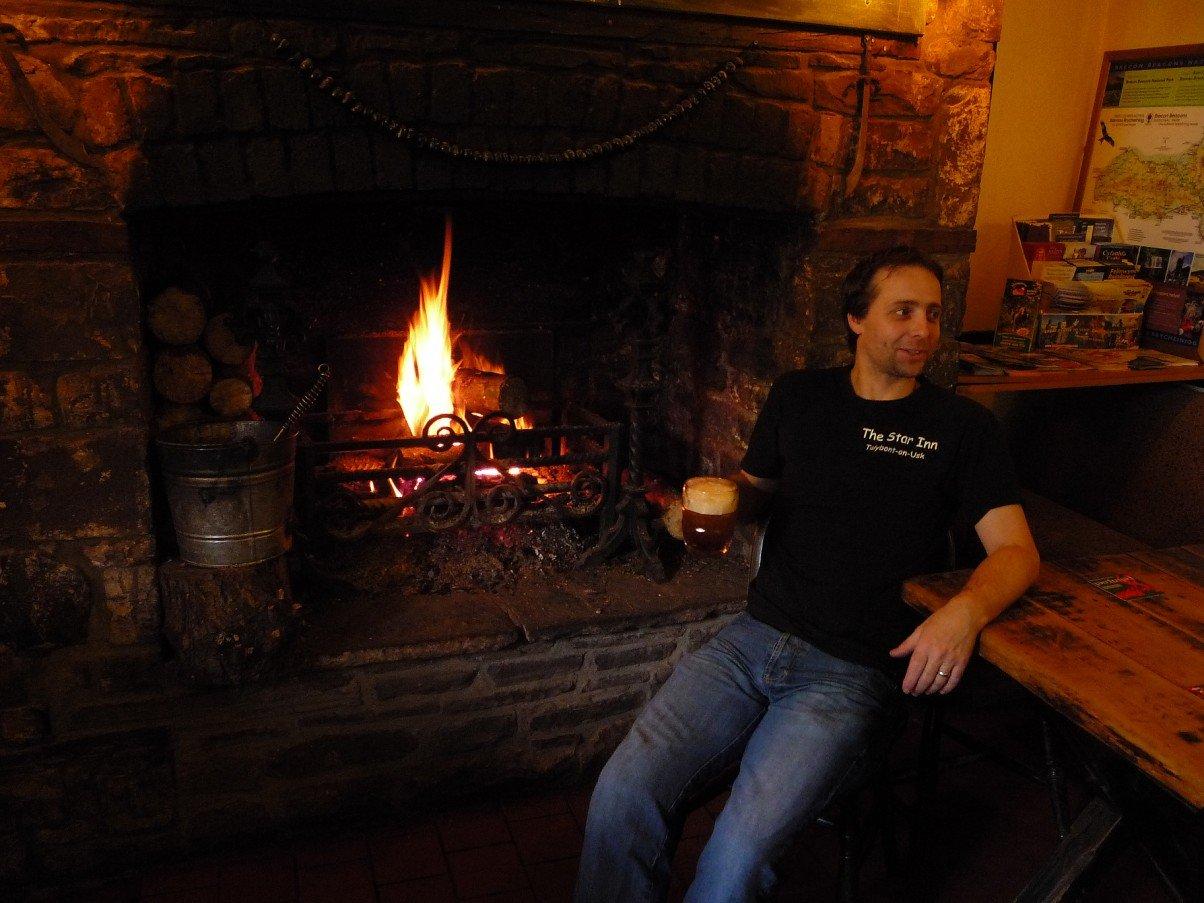 Ian Bell landlord of The Star Inn
