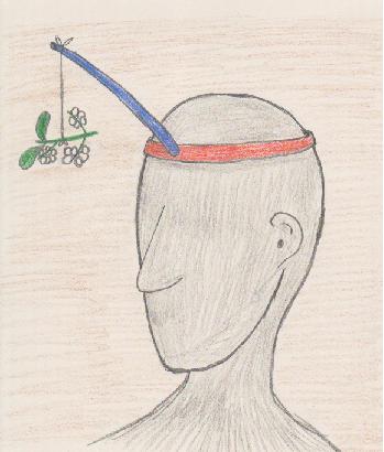 Mistletoe holder