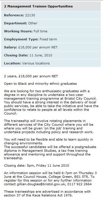 Bristol City Council Jobs