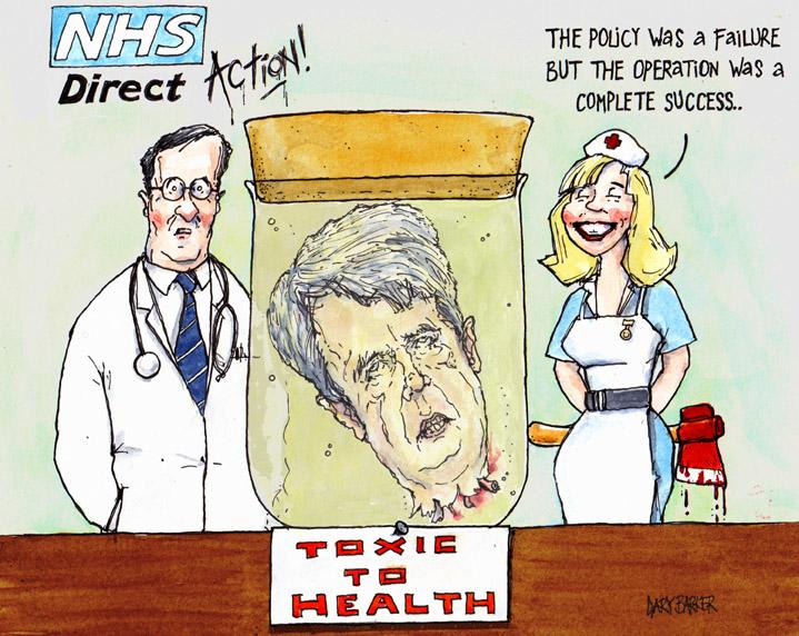 Andrew Lansley and the nurses of the NHS