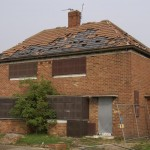 Derelict house - ripe for squatters?