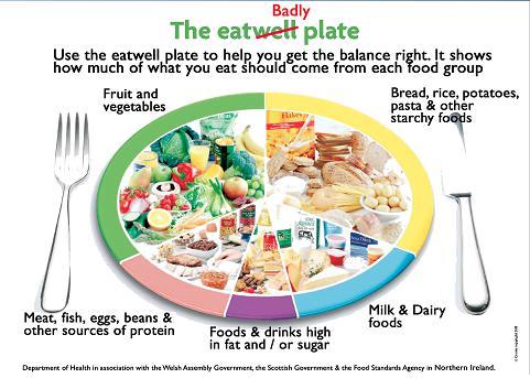 Fat Tax Plate