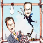 Cameron and Clegg-www.garybarker.co.uk