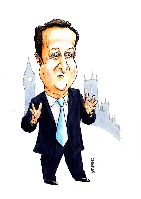 David Cameron by Gary Barker