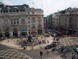 Piccadilly Circus-By