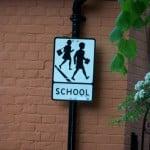 Historic School Sign by Trevor Alder