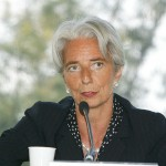 Christine Lagarde by MEDEF