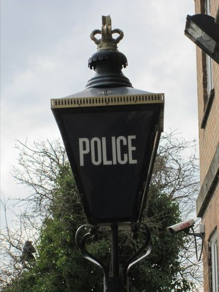 Police Lamp-By Bob Harvey
