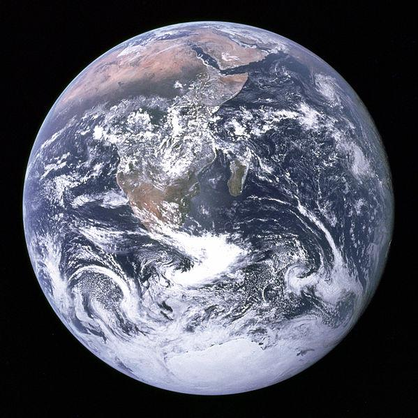 Earth-Public Domain (NASA)