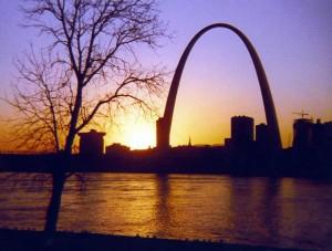 St Louis Skyline By Dwaynep2011