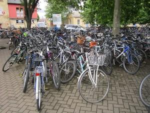 Bikes by Green Lane