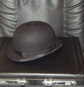 Bowler Hat and Briefcase