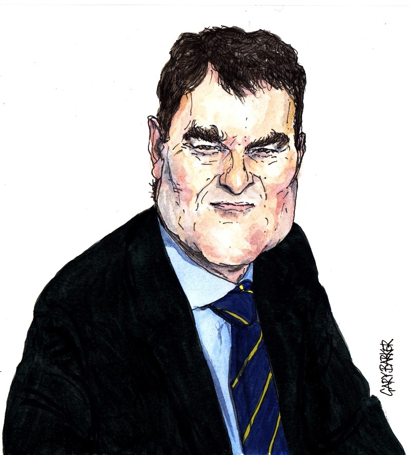 David Gauke Cartoon