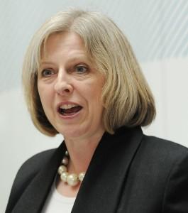 Theresa May by ukhomeoffice
