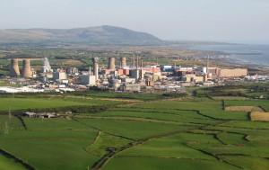 Sellafield aerial view - by Simon Ledigham