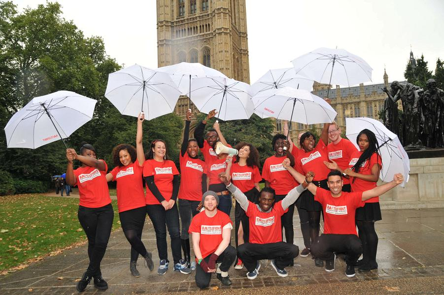 Battlefront Campaigner Ava Patel and her choir