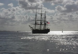 HMS Bounty by Paul Glazzard