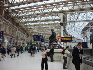 Waterloo Station Concourse by Oxyman
