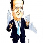 David Cameron by Gary Barker