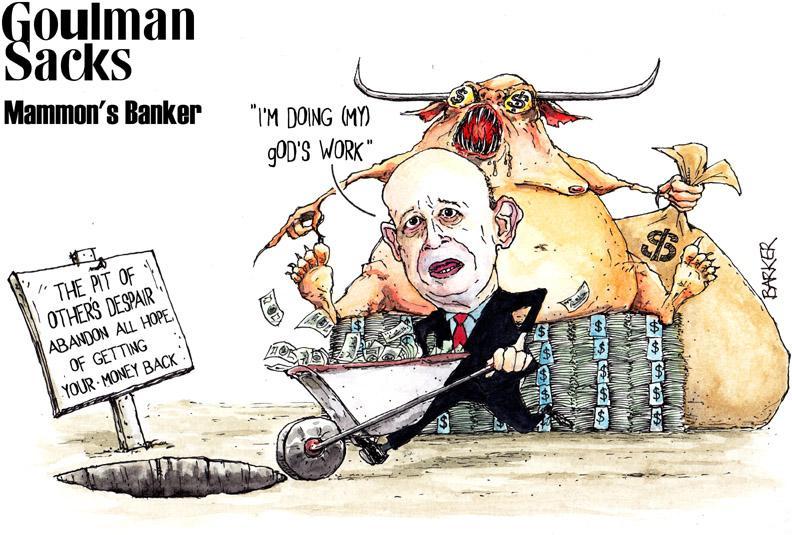 Goldman Sachs by Gary Barker (www.garybarker.co.uk)