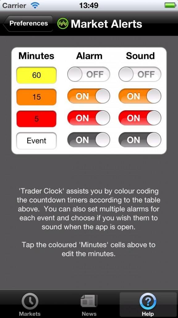 Trader Clock 4