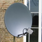 Satellite Broadband Dish by Satbuff (PD)