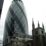 Gherkin Building by Andy Wright