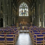 Church Interior by Peter Facey