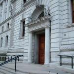 HM Treasury East Entrance by JamesF