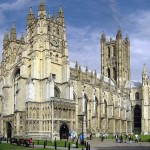 Canterbury Cathedral by Hans Musil