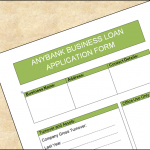 Loan Application Form (business)