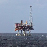 North Sea Oil Platform by Stan Shebs