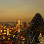 Canary Wharf and Gherkin by Harshil.Shah