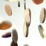 Falling Coins - FreeFoto.com