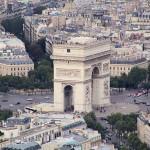 Arc de Triomphe Paris - by dontworry