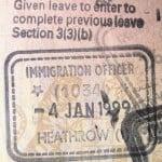 Heathrow Entry Visa (PD)