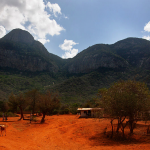 Kenyan Village by Frontier via Wikimedia Commons
