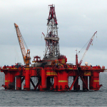 Oil Platform by Erik Christensen via Wikimedia Commons