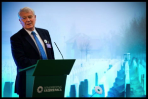 Paddy Ashdown - Srebrenica Tribute