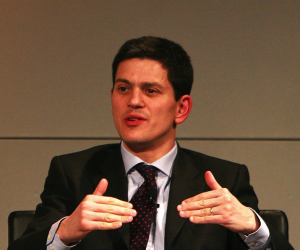 David Miliband by Harald Dettenborn via Wikimedia Commons