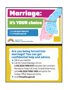 Marriage-it's your choice card