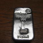 Silver Ingot by Aatze78 via Wikimedia Commons