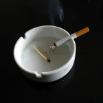 Cigarette by Tomasz Sienicki via Wikimedia Commons