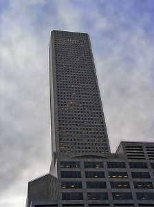 JPMorgan Chase Tower by Gabor Eszres