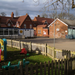 Primary School Playground by Robin Stott