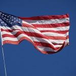 Flag of the USA - FreeFoto.com