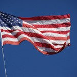 Flag of the USA - FreeFoto.com