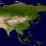 Asia by NASA (PD)