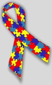 Autism-Aspergers Awareness Ribbon